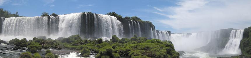 Wasserfälle Iguazu